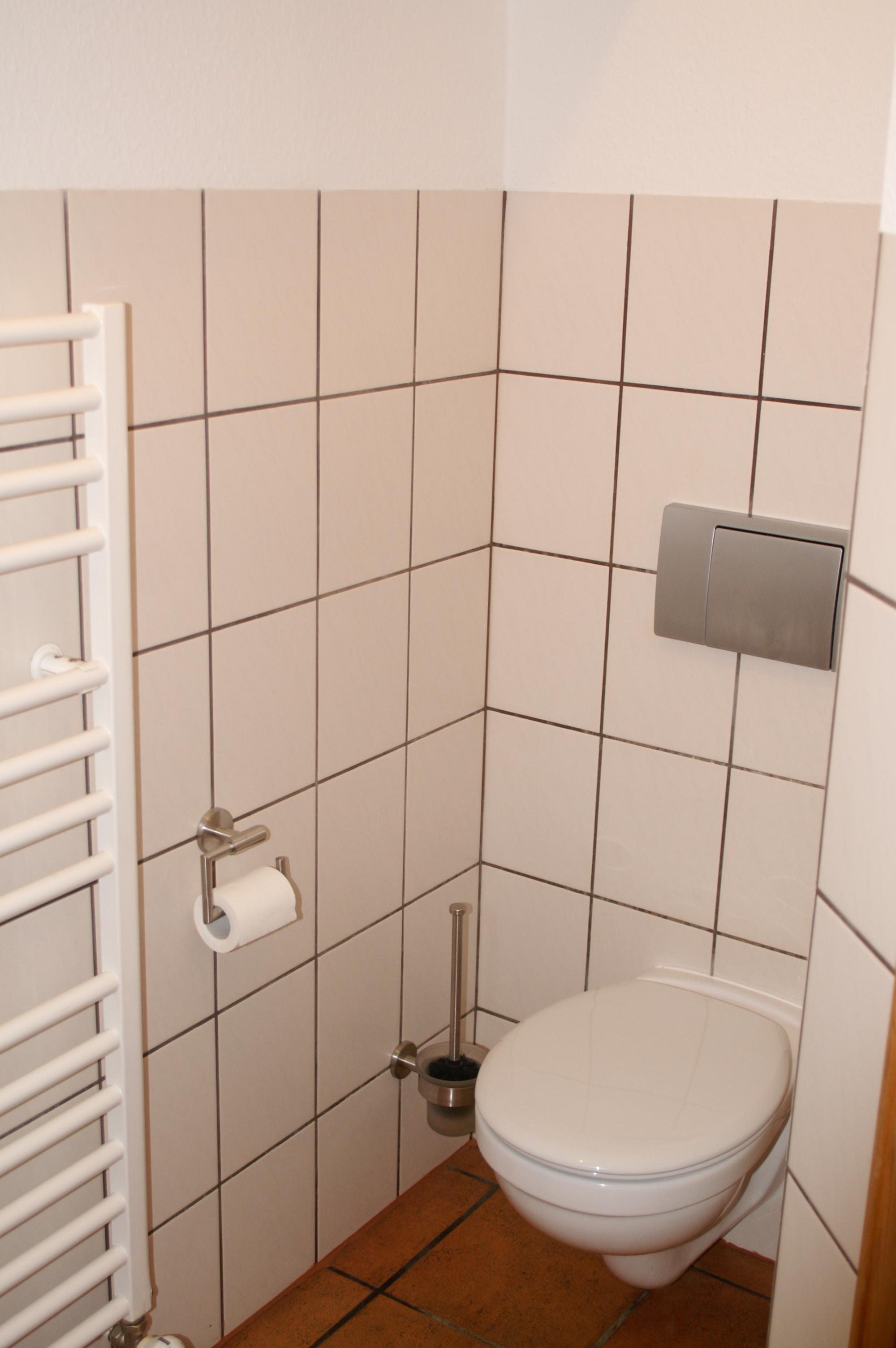 Dusche in Wohnung 1